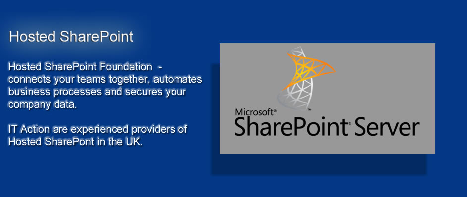 itaction hosted sharepoint